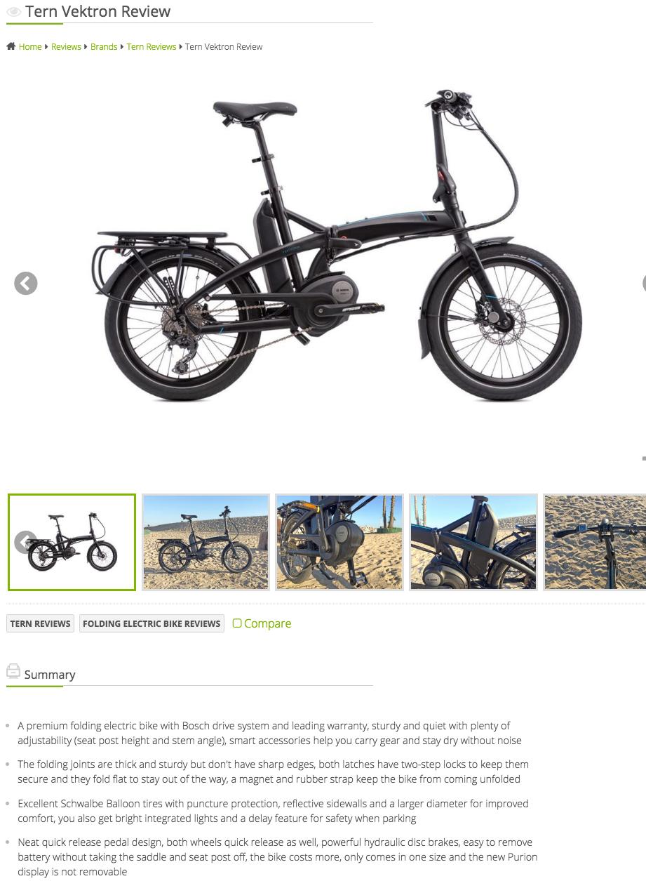 Tern Vektron Review   Tern Folding Bikes   Netherlands