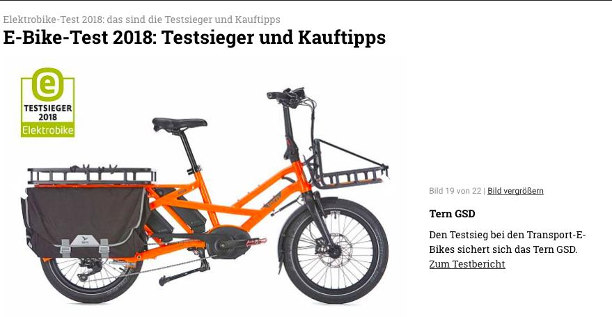 e bike test 2018 die besten e bikes des jahres tern folding bikes united states. Black Bedroom Furniture Sets. Home Design Ideas
