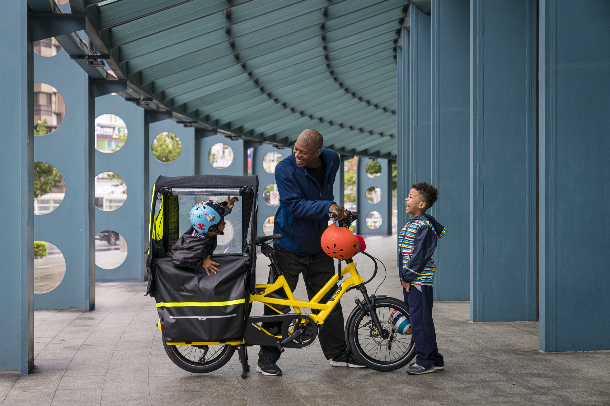 Tern Launches New Modular Accessories for Kids and Cargo on the GSD