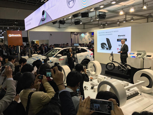 Tern Joins Bosch for eBike Launch at Tokyo Motor Show