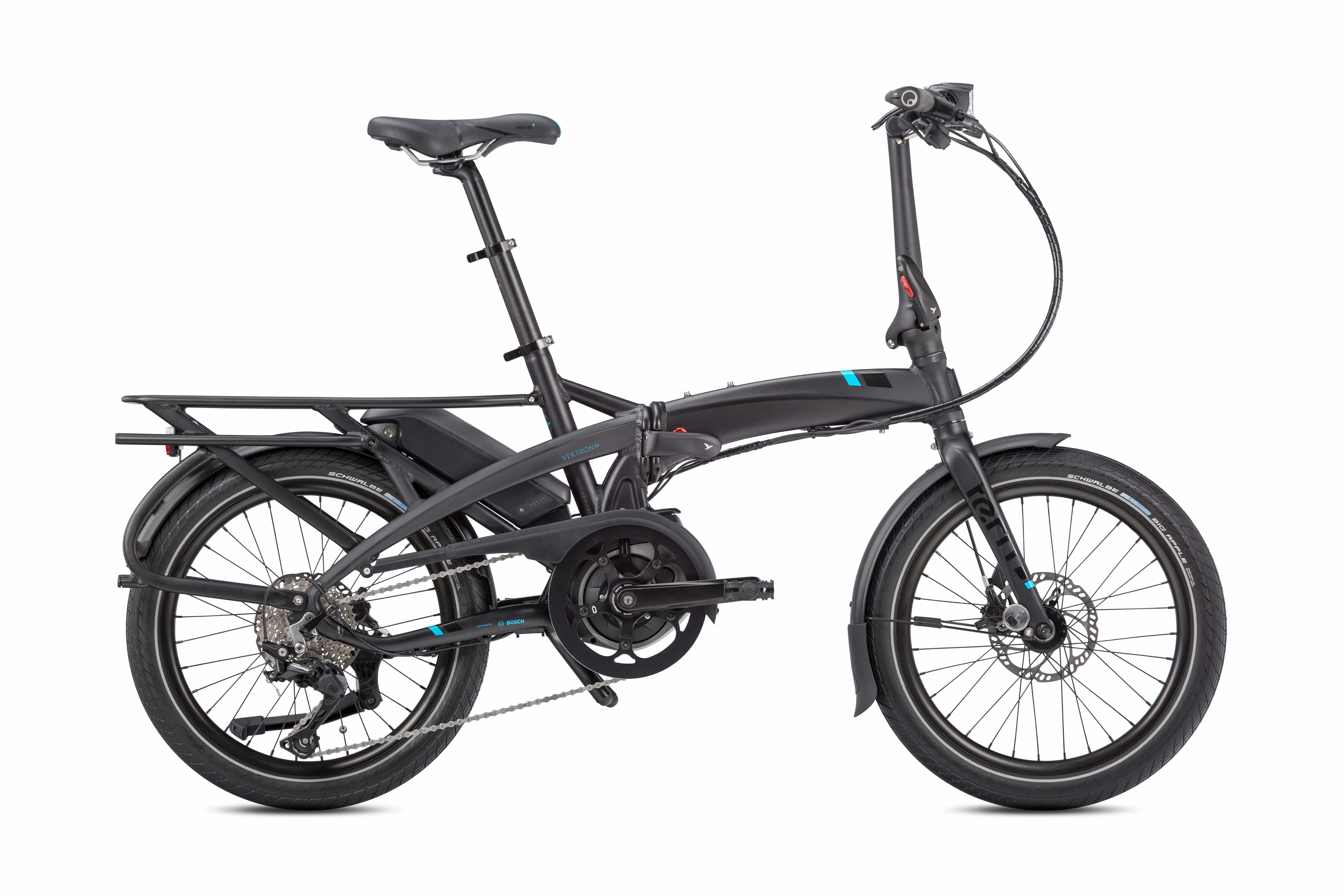 Tern Upgrades Vektron Folding eBike Line